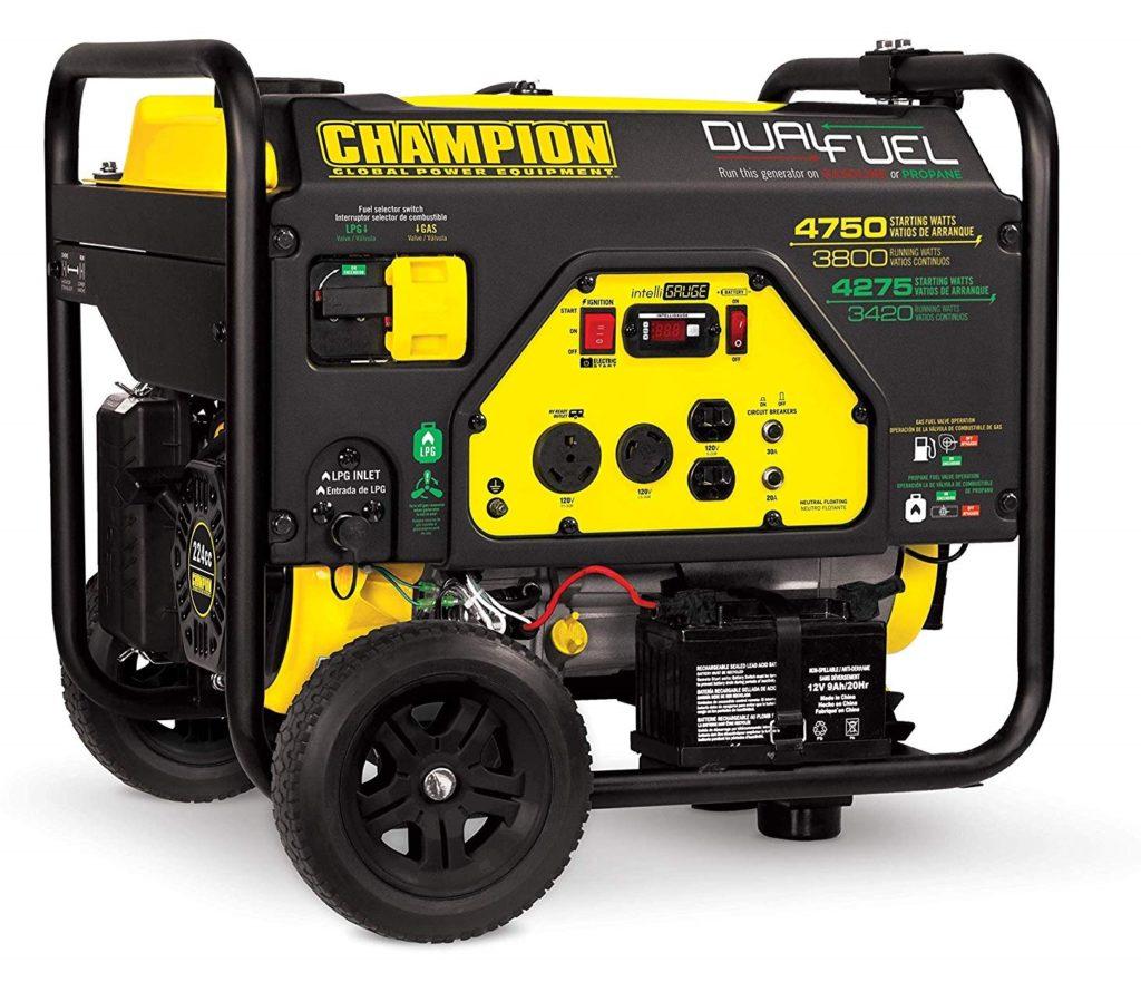 Champion 3800-Watt Dual Fuel Home Generator