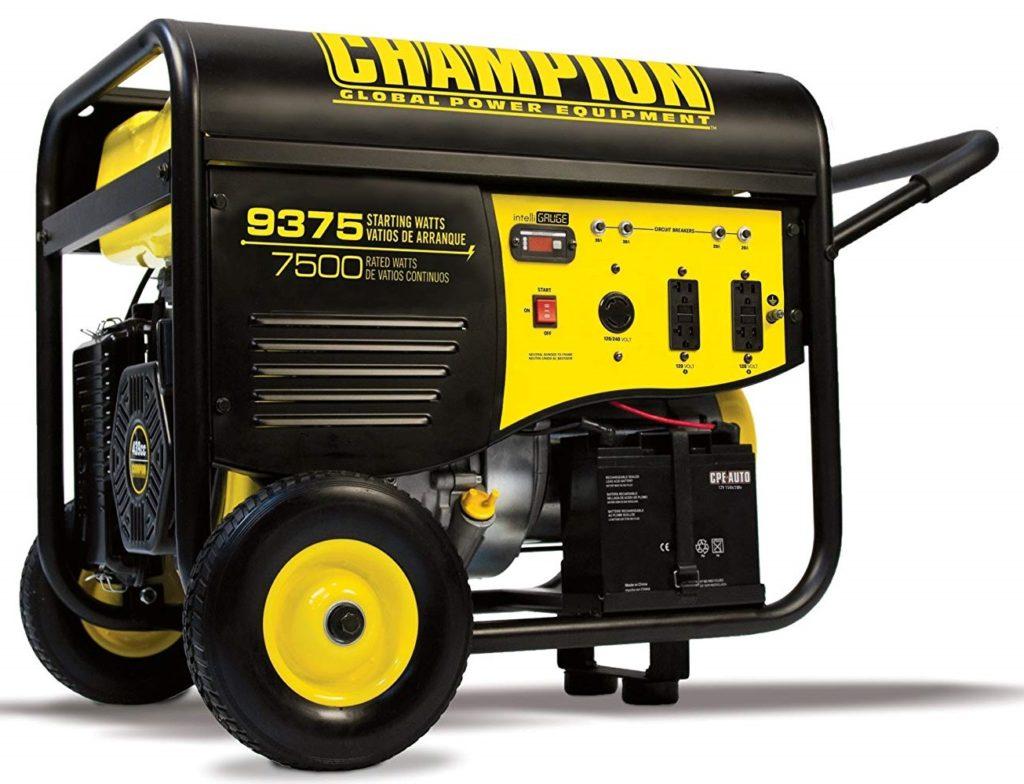 Champion 7500-Watt Portable Generator for Home Use