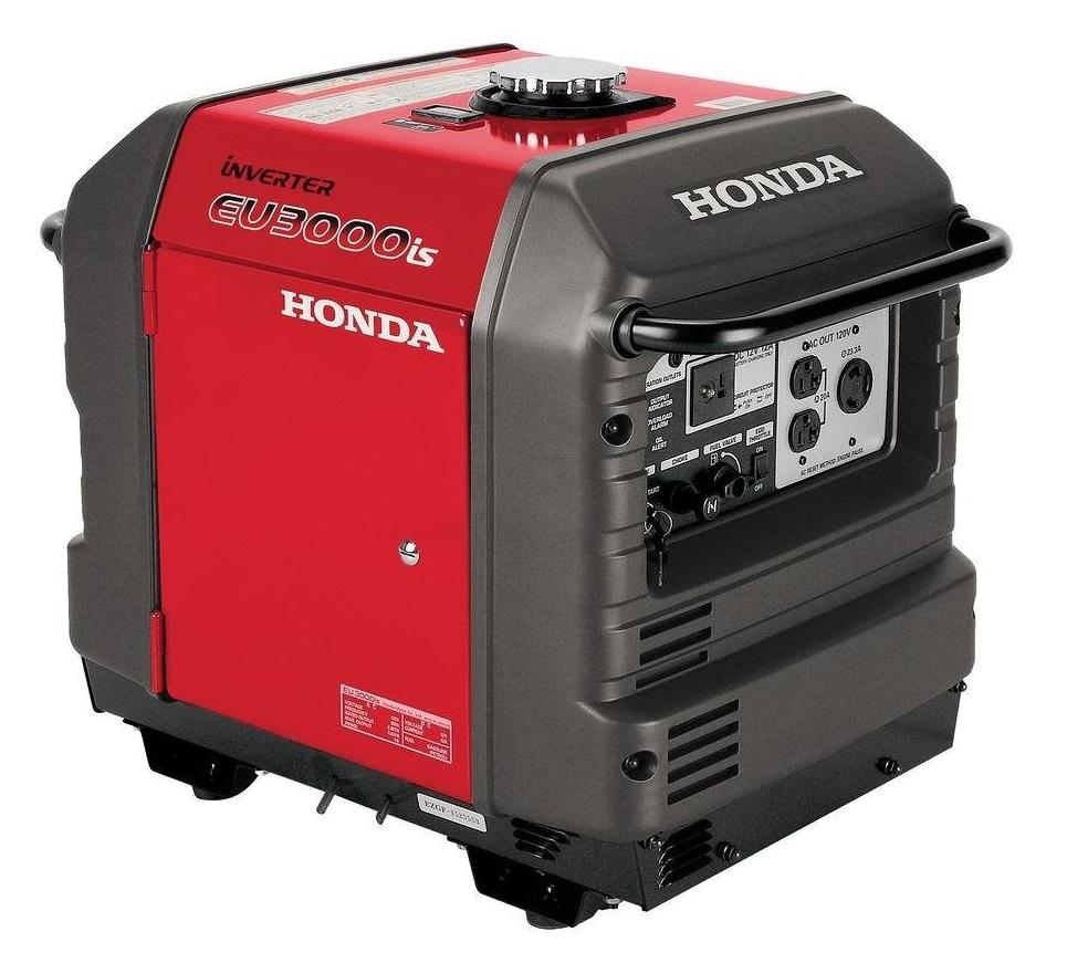 Honda EU3000iS 2800 Watt Portable Inverter Generator for Home