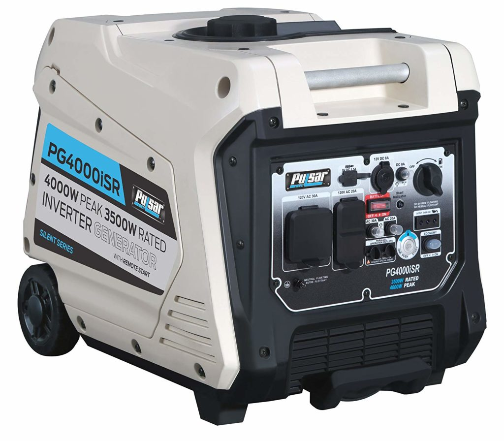 Pulsar 4000W Portable Inverter Generator for Home use