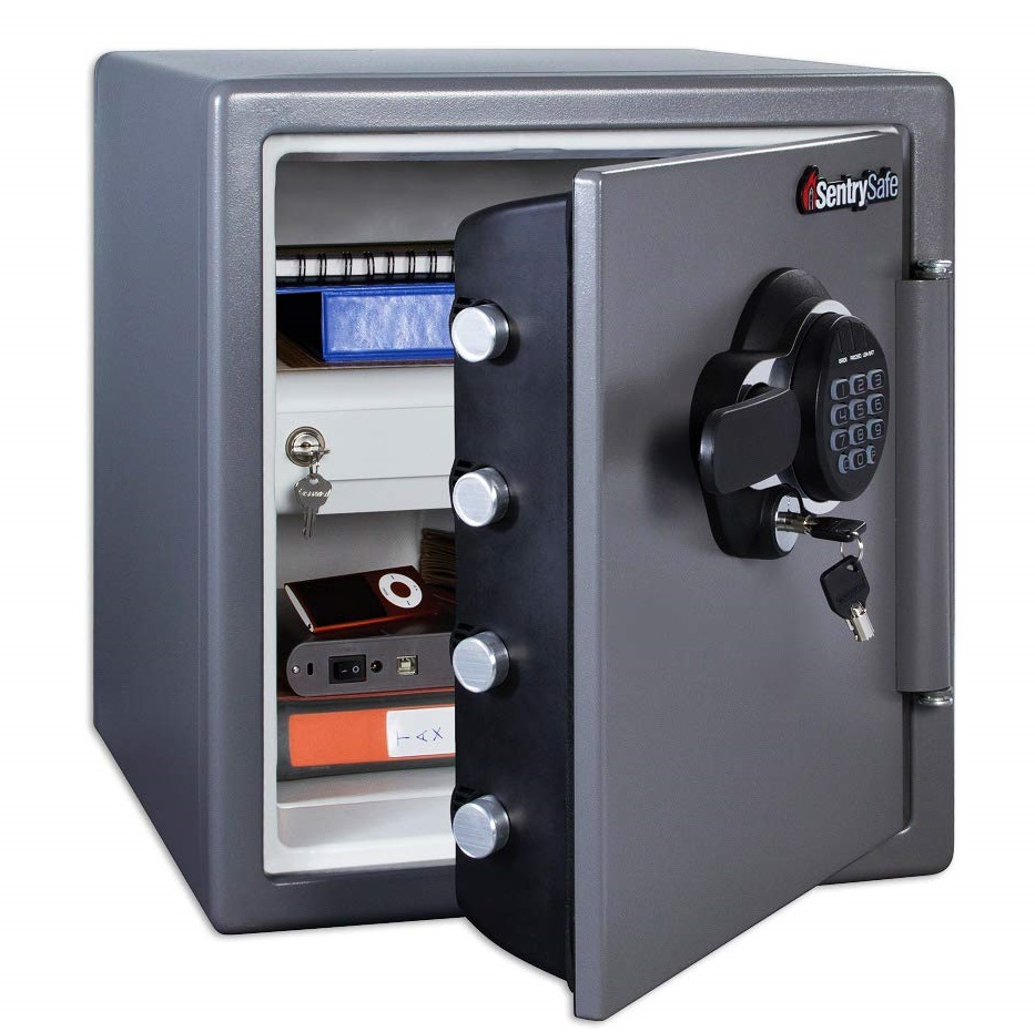 SentrySafe SFW123GDC Fireproof and Waterproof Home Safe