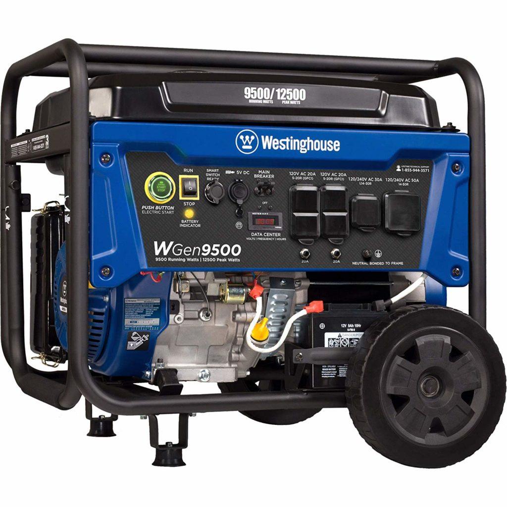 Westinghouse WGen9500 Heavy Duty Portable Home Generator