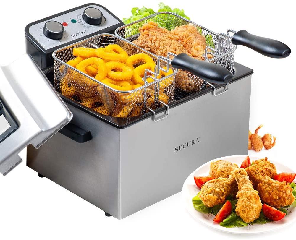 Secura Electric Deep Fryer
