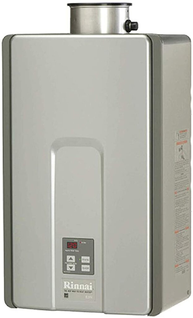 Rinnai RL Series HE+ Tankless Natural Gas Water Heater